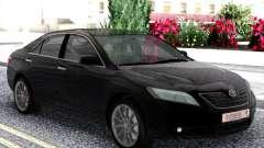 Toyota Camry XV40 2007 Black para GTA San Andreas