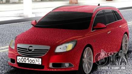 Opel Red Insignia para GTA San Andreas