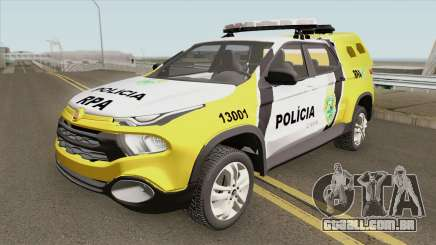 Fiat Toro (Policia Militar) para GTA San Andreas