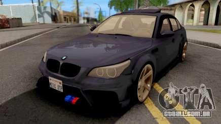BMW M5 E60 Violet para GTA San Andreas