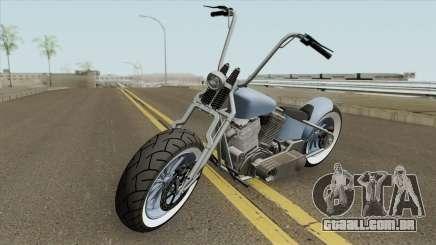 Zombie Bobber GTA V (Metal Claro) para GTA San Andreas