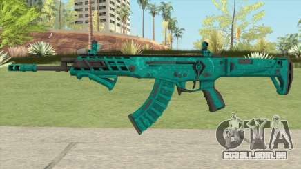 Warface AK-Alfa Absolute (With Grip) para GTA San Andreas