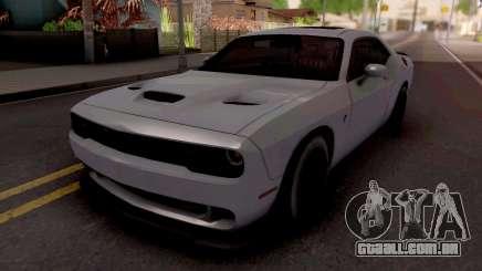 Dodge Challenger Hellcact Lowpoly para GTA San Andreas