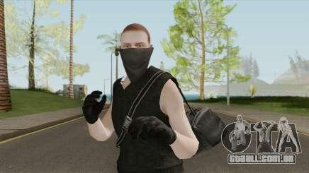GTA Online Skin V6 para GTA San Andreas