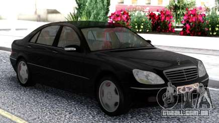 Mercedes-Benz S600 W220 Black para GTA San Andreas