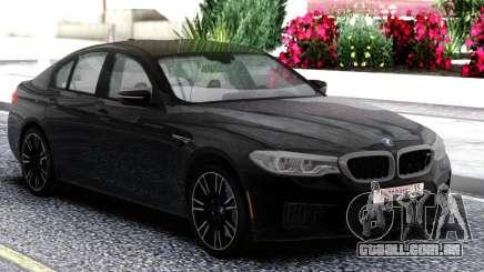 BMW M5 F90 Sedan Black para GTA San Andreas