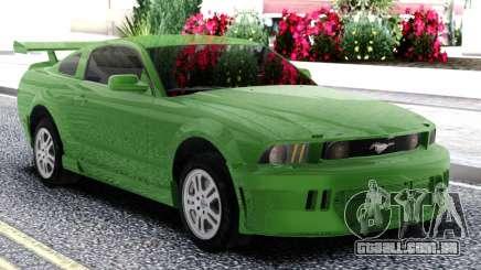 Ford Mustang GT Green para GTA San Andreas