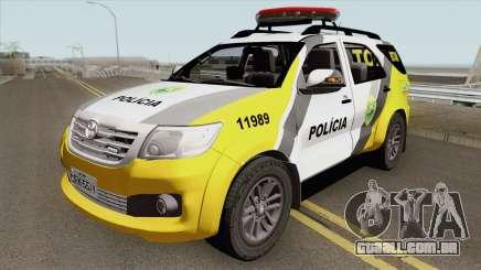Toyota Hilux SW4 2014 ROTAM PR para GTA San Andreas