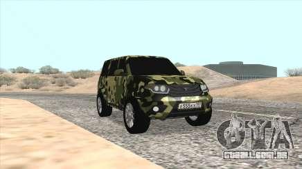 UAZ Patriota Camo para GTA San Andreas