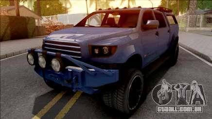 GTA V Vapid Contender Blue para GTA San Andreas