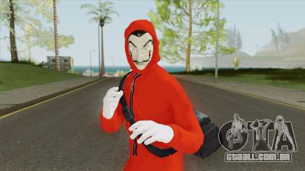 Skin Personagem La Casa De Papel para GTA San Andreas