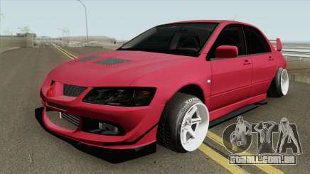 Mitsubishi Lancer Evolution VIII MR 2004 para GTA San Andreas