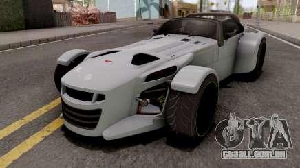 Donkervoort D8 GTO Grey para GTA San Andreas