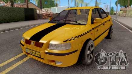 Ikco Samand Taxi LX para GTA San Andreas