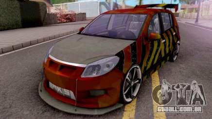 Dacia Sandero Modified para GTA San Andreas