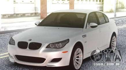 BMW M5 E60 Sedan White para GTA San Andreas