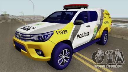 Toyota Hilux SR5 2017 (ROTAM PMPR) para GTA San Andreas