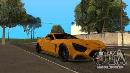 Flanker F para GTA San Andreas