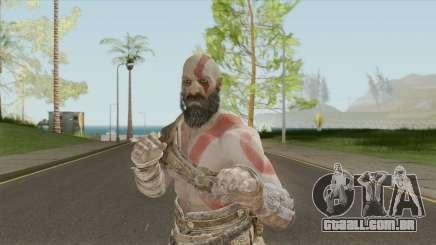 Kratos God of War 2018 para GTA San Andreas