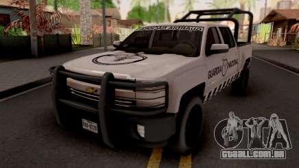 Chevrolet Cheyenne 2016 Guardia Nacional para GTA San Andreas