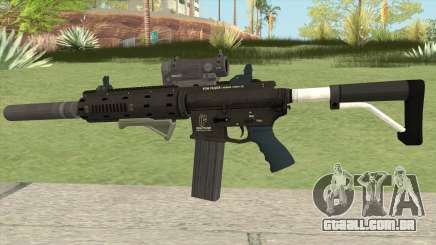Carbine Rifle Silenced GTA V para GTA San Andreas