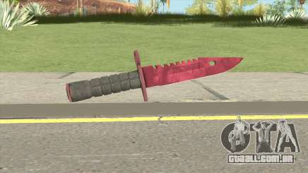 CS:GO M9 Bayonet (Doppler Ruby) para GTA San Andreas