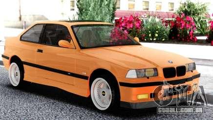 BMW E36 Coupe Orange para GTA San Andreas