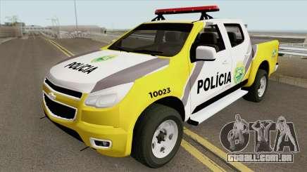 Chevrolet S10 (Policia Militar) para GTA San Andreas