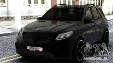 Mercedes-Benz AMG GLE 63 4MATIC para GTA San Andreas