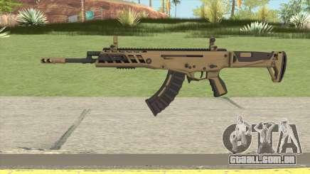 Warface AK-Alfa Gold (Without Grip) para GTA San Andreas