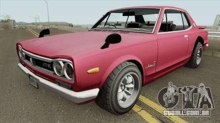Nissan Skyline 2000 GT-R (KPGC10) 1971 para GTA San Andreas