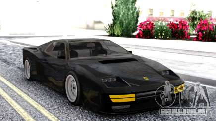 Ferrari Testarossa Black para GTA San Andreas