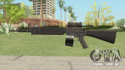 C7 Assault Rifle CMAG para GTA San Andreas