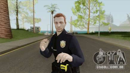 GTA Online Skin V2 (Law Enforcement) para GTA San Andreas