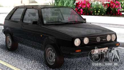 Volkswagen Golf II Black para GTA San Andreas