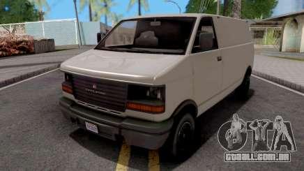 GTA V Declasse Burrito White para GTA San Andreas