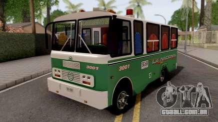 Buseta Clasica Colombiana para GTA San Andreas