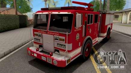KME Renegade US Navy Firetruck 1993 para GTA San Andreas