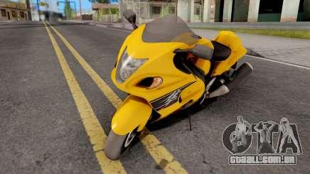 Suzuki Hayabusa para GTA San Andreas