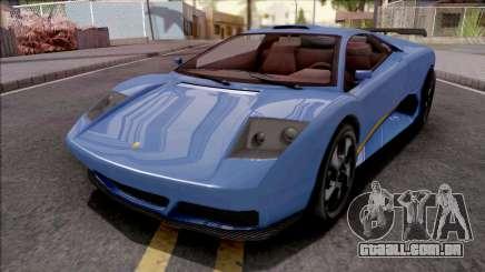 GTA V Pegassi Infernus Blue para GTA San Andreas
