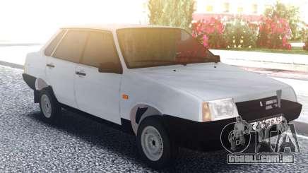 VAZ 21099 Sedan Branco para GTA San Andreas