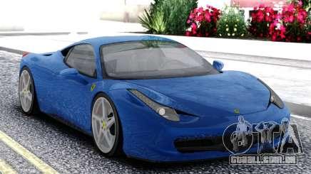 Ferrari 458 Italia Coupe para GTA San Andreas