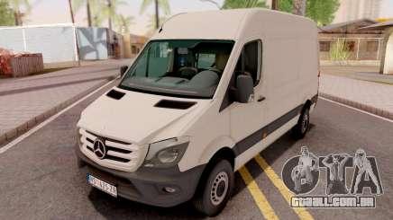 Mercedes-Benz Sprinter 2017 White para GTA San Andreas