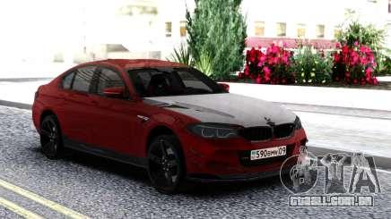 BMW M5 F90 Red-Black para GTA San Andreas