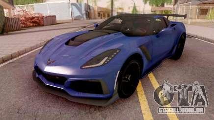 Chevrolet Corvette ZR1 2019 para GTA San Andreas