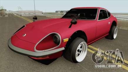 Nissan Fairlady Z 240ZG para GTA San Andreas