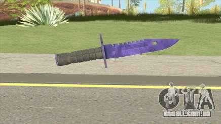 CS:GO M9 Bayonet (Doppler Sapphire) para GTA San Andreas