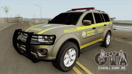 Mitsubishi Pajero Dakar (Brigada Militar) para GTA San Andreas