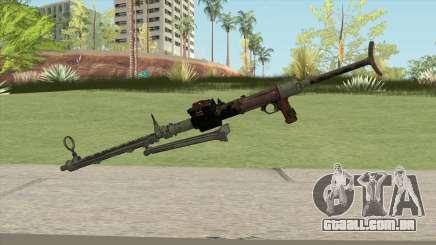COD WW2 - MG-15 Anti-Aircraft MG (Default) para GTA San Andreas