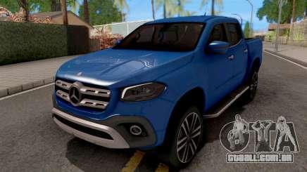 Mercedes-Benz X-Class 2018 para GTA San Andreas